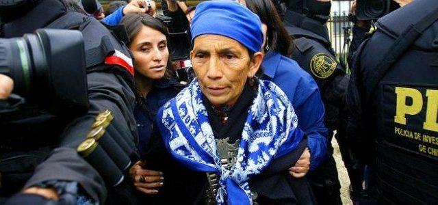 Chile / Wallmapu – Tras 14 días en huelga de hambre y cambio de medida cautelar machi Mapuche Francisca Linconao depone ayuno
