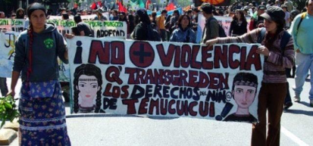 La situación del pueblo mapuche, consecuencia del expansionismo del Estado de Chile