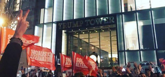 CIT se une a las protestas en todo el mundo contra Trump