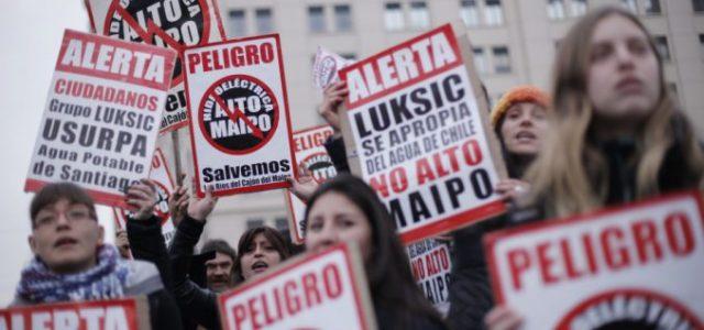 Chile – Exigen que SMA clausure proyecto Alto Maipo por reiterados y graves incumplimientos