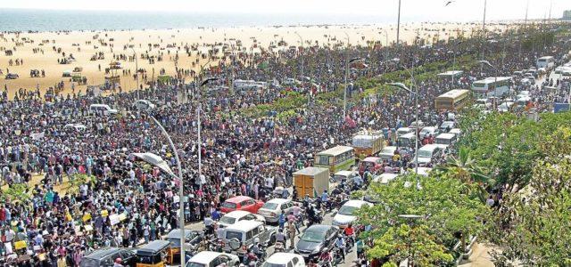 India –Trastornos en Tamil Nadu