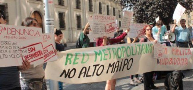 Chile – Alto Maipo: Parece que las comunidades tenían razón