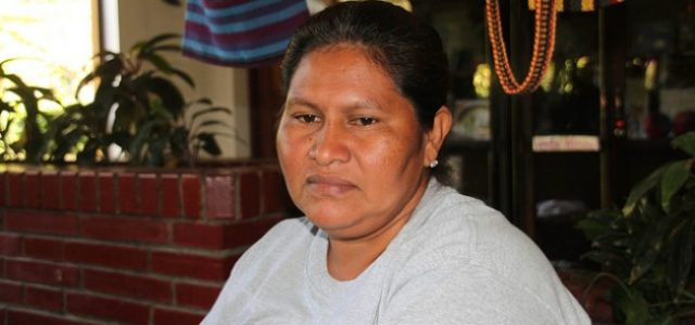 Nicaragua –Una campesina hace frente al presidente Ortega