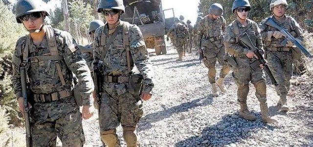 Chile / Wallmapu – Denuncian desde Ercilla que militares con armamento de guerra ingresaron a cuatros comunidades Mapuche
