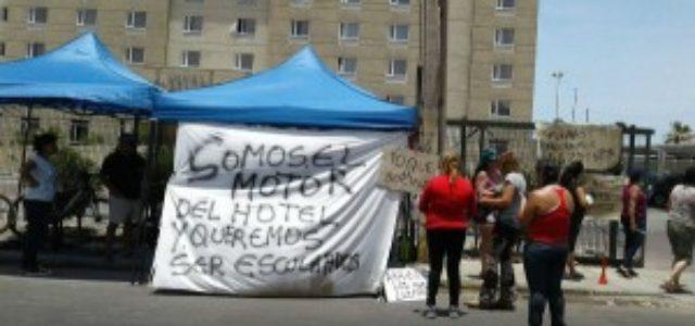 Chile – Funcionarios del Hotel Diego de Almagro de Arica iniciaron huelga de hambre