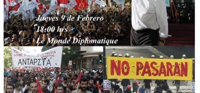 Chile – Conversatorio sobre la situación en Grecia: Auge y Caída de Syriza