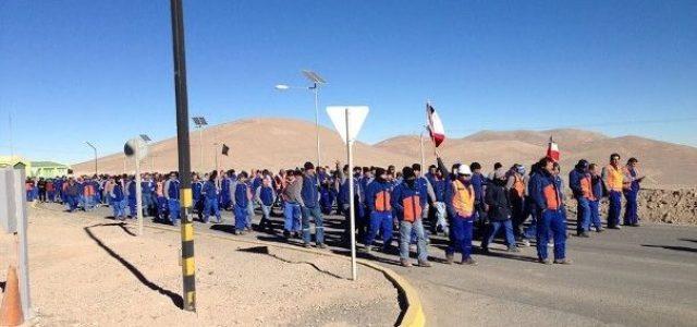Huelga en Escondida, una profunda incisión en la coraza del régimen neoliberal chileno.