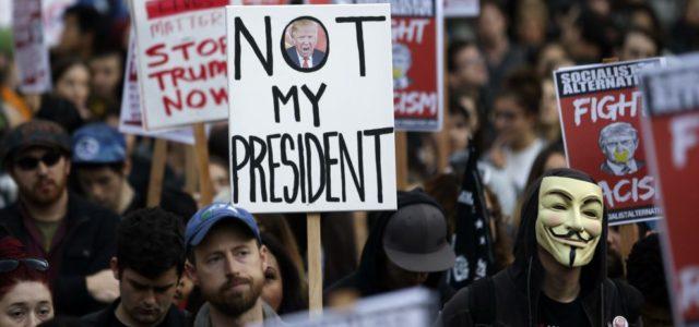 La desestabilización a Trump es desde la izquierda no desde el socialismo