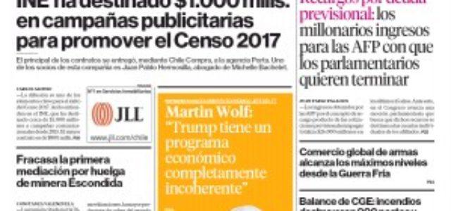 Chile – En 15 años AFP han ganado $26 mil millones por recargos de deuda previsional