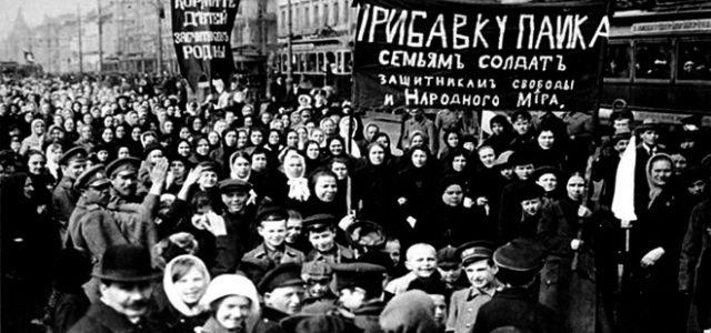 La revolución de febrero • Cuando la clase obrera derribó el zarismo