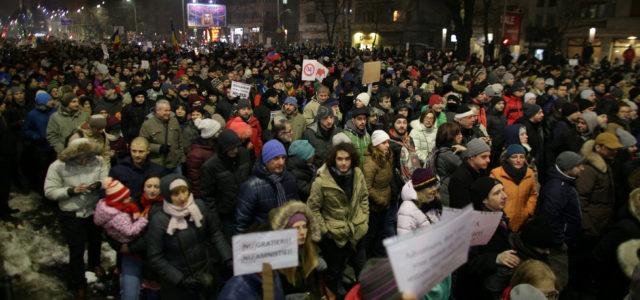 Rumania – Las más grandes protestas callejeras desde 1989