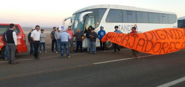 Chile – Gerente de minera El Abra atropelló a dirigente sindical que se encontraba en manifestación legal