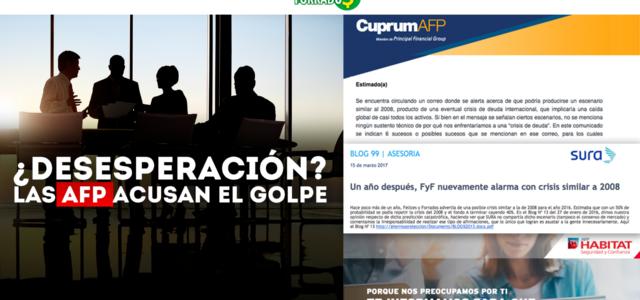 Chile – Las AFP acusan el golpe
