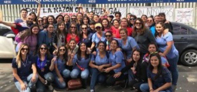 Chile – Sindicato de Clínica Bicentenario logró sus objetivos en la huelga legal