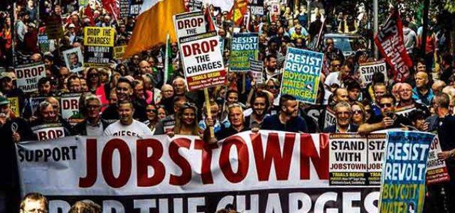 Irlanda: ¡Protestar no es un crimen!
