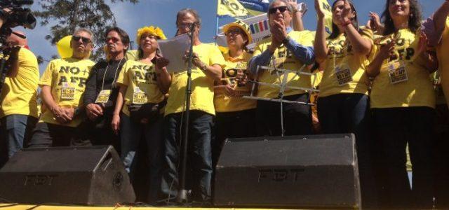 Chile – Luis Mesina: Discurso Central en Acto de Cierre Marcha NO+AFP
