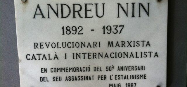 """Andreu Nin: """"para ganar la guerra al fascismo hay que hacer la revolución"""""""