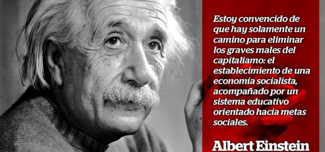 ¿Por qué el socialismo?  por Albert Einstein