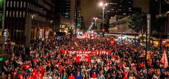 Brasil – Las huelgas y protestas del 15 de marzo demuestran que Temer puede ser derrotado