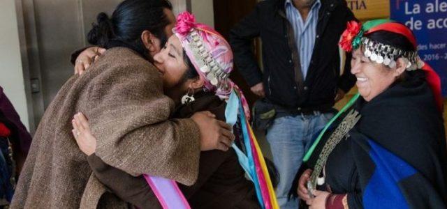 """Chile  / Wallmapu – Absuelto de todos los cargos quedo el werken Mapuche Rodrigo Curipan quien era acusado de """"usurpación"""" de tierra"""