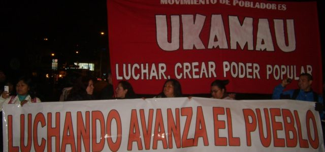 Chile – Intervención de Doris Gonzalez, dirigente de Ukamau, en Foro del 11 de marzo