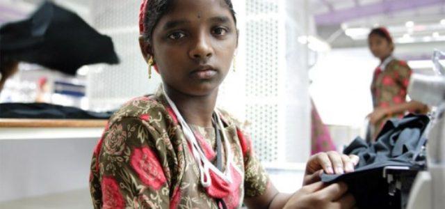 Calzado esclavo en la India