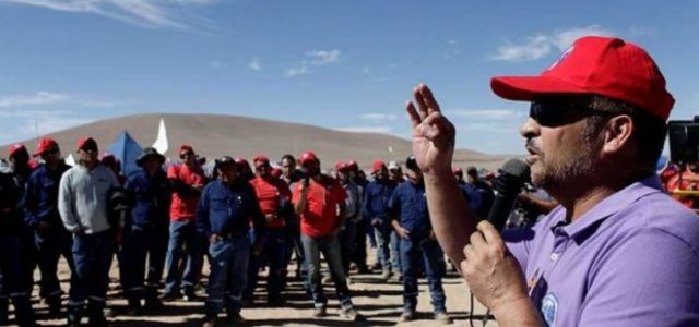 Chile – Huelga de Escondida toma fuerza: sindicatos mineros se suman a movilizaciones