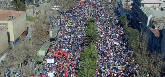 Chile – Fotos de la Gran Marcha 26 de Marzo en Santiago