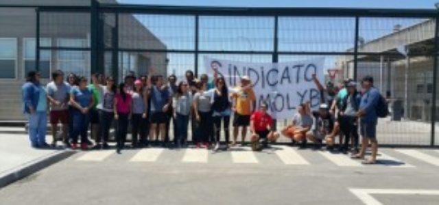 Chile – Huelguistas de Molyb marcharán por las calles de Antofagasta