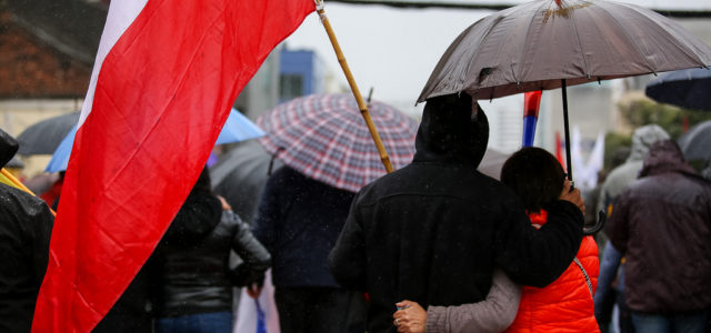Chile – Concepción: Trabajadores marchan y exigen convocatoria a Paro Nacional por el fin de las AFP