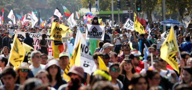 Chile – La cobertura de la marcha del 26 de Marzo por la DW de Alemania