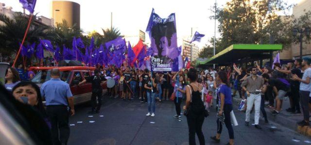 Chile – Alta convocatoria en marchas por el Día Internacional de la Mujer a lo largo del país