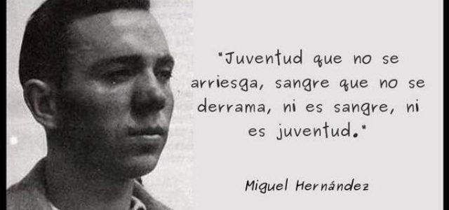 A 75 AÑOS DE LA MUERTE DE MIGUEL HERNÁNDEZ