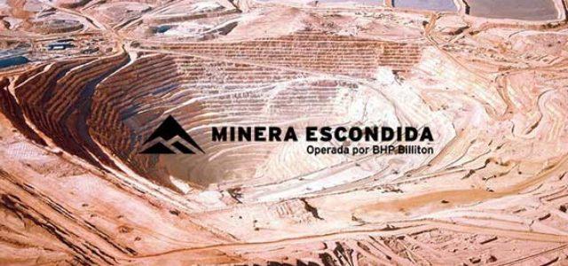Chile – Escondida: Huelga en una de las mayores minas de cobre del mundo