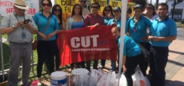 """Chile – Subcontratistas de Movistar continúan en huelga mientras termina el """"Lock-out"""""""