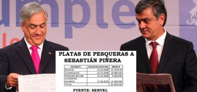 Chile – Pescadores exigen que Fiscalía investigue a ex Presidente Piñera por su rol en la Ley de Pesca