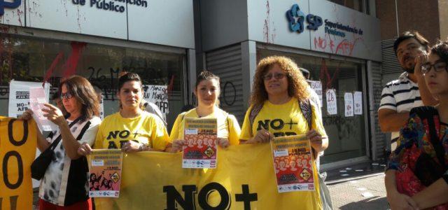 Chile – Frente a Superintendencia de Pensiones llaman a marcha el 26 de marzo