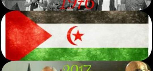 SAHARAUIS:LA HISTORIA DIRÁ SU PALABRA