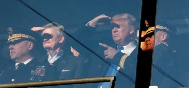 Trump: promesas de paz y aprestos de guerra