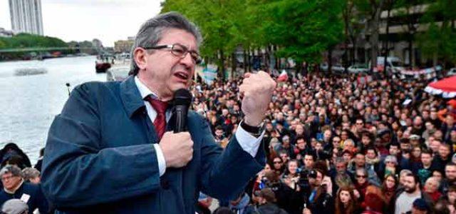 Elecciones en Francia: Mélenchon avanza con fuerza