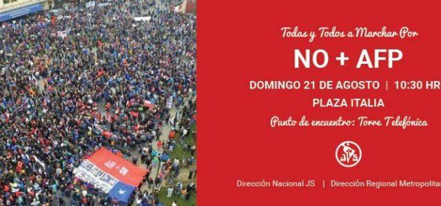 Chile – El PS acude al rescate de las AFP.