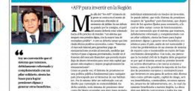 Chile – Demoledora respuesta a columnista de El Mercurio de Antofagasta que defiende las AFP