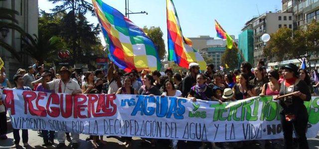 Chile – Movimiento por el agua y territorios define a Concepción como sede de la V marcha plurinacional
