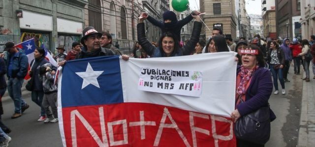 Chile – Las estadísticas de los montos de las pensiones muestran un importante deterioro