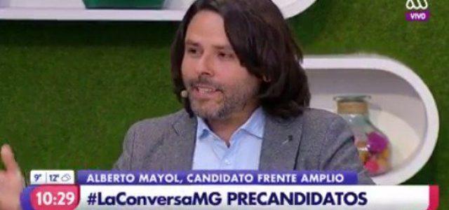 Chile – Alberto Mayol en el Matinal de Megavisión