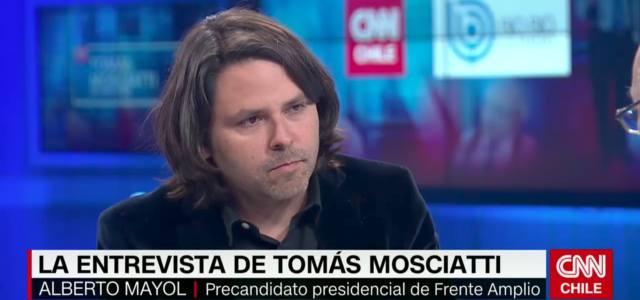 Chile – Tomás Mosciatti Entrevista: Alberto Mayol (16-05-2017)