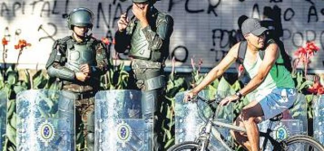 Brasil – Temer ordenó el repliegue del ejército