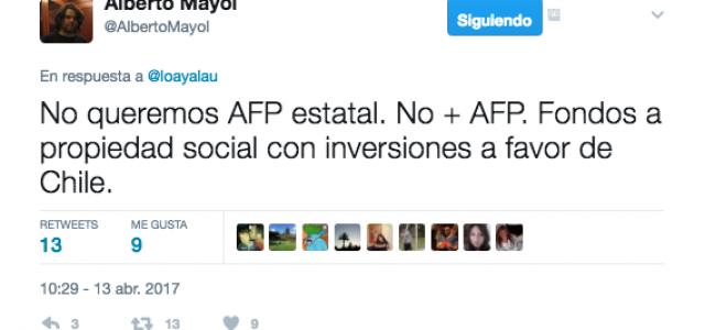 Chile – Alberto Mayol se reunió con la Coordinadora Nacional de Trabajador@s  NO+AFP.