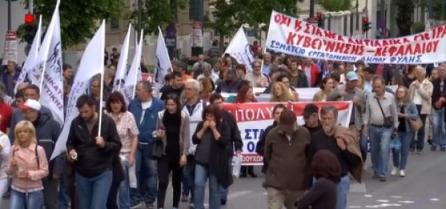 Grecia –Tres días de movilización contra el mazazo del cuarto memorándum