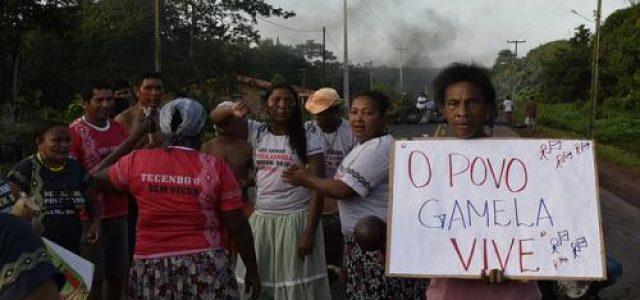 Brasil – Cortaron las manos y las rodillas de un indígena Gamela durante una masacre